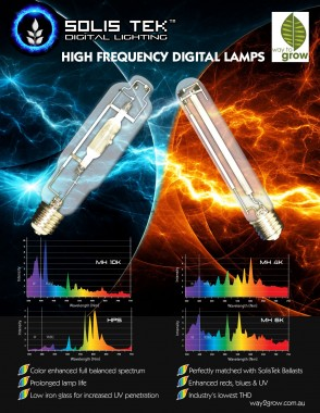 SOLIS TEK Digital Lamps