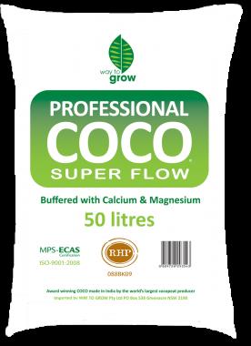 W2G PRO COCO SUPER FLOW 50Litre Bag